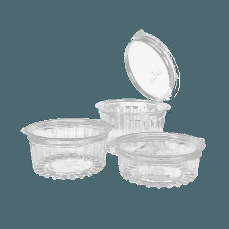 Contenedores de plástico con Tapa Image